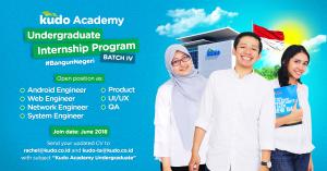 <Kudo Academy's Undergraduate Internship Program>