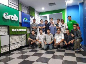 <Kudo's Mobile Engineering Team (Bottom Left: Me)>