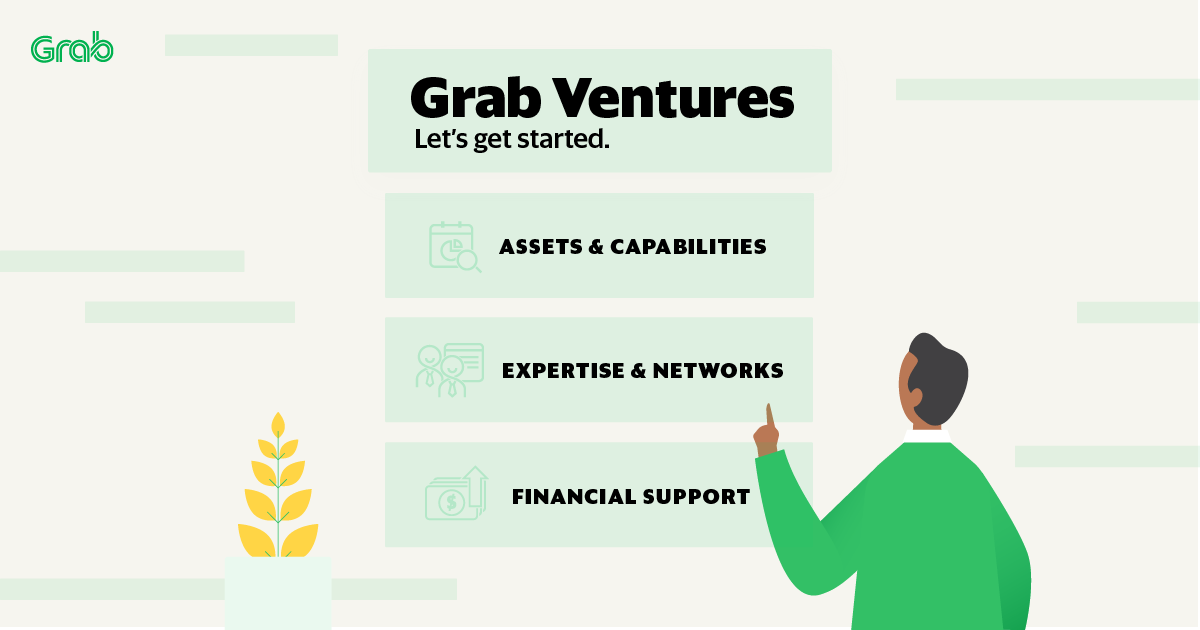 Grab Ventures: How can you get started with us?