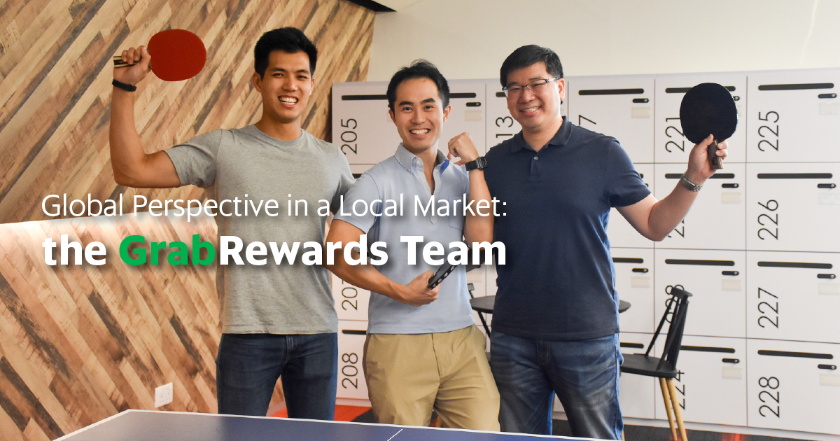 Global Perspective in a Local Market: the GrabRewards Team