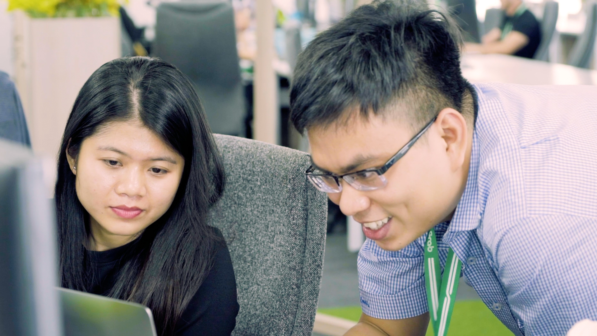 Inside Grab Vietnam's Office