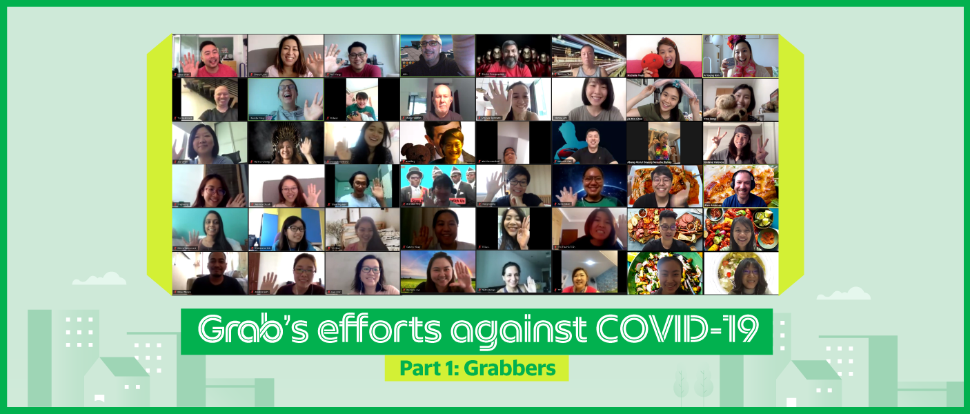Grab Cares: Grab's efforts against COVID-19  Part 1/2: Our Grabbers