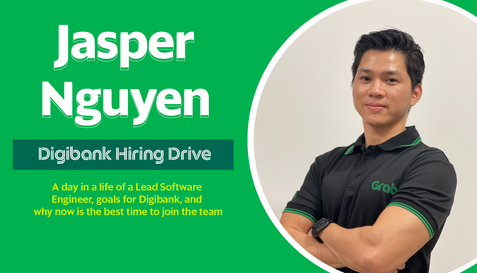 A day in the life of Jasper Nguyen, Lead  Software Engineer for Digibank